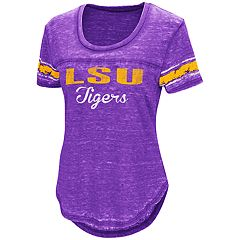 Women's Campus Heritage LSU Tigers Double Stag Tee