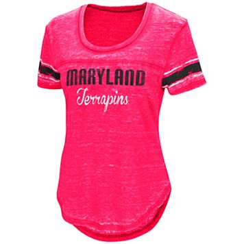 Women's Campus Heritage Maryland Terrapins Double Stag Tee