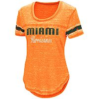 Women's Campus Heritage Miami Hurricanes Double Stag Tee