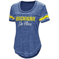 Women's Campus Heritage Michigan Wolverines Double Stag Tee