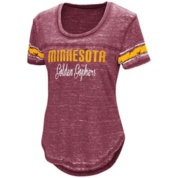 Women's Campus Heritage Minnesota Golden Gophers Double Stag Tee