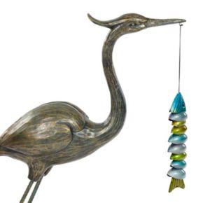 Bombay® Outdoors Crane Sculpture Floor Decor