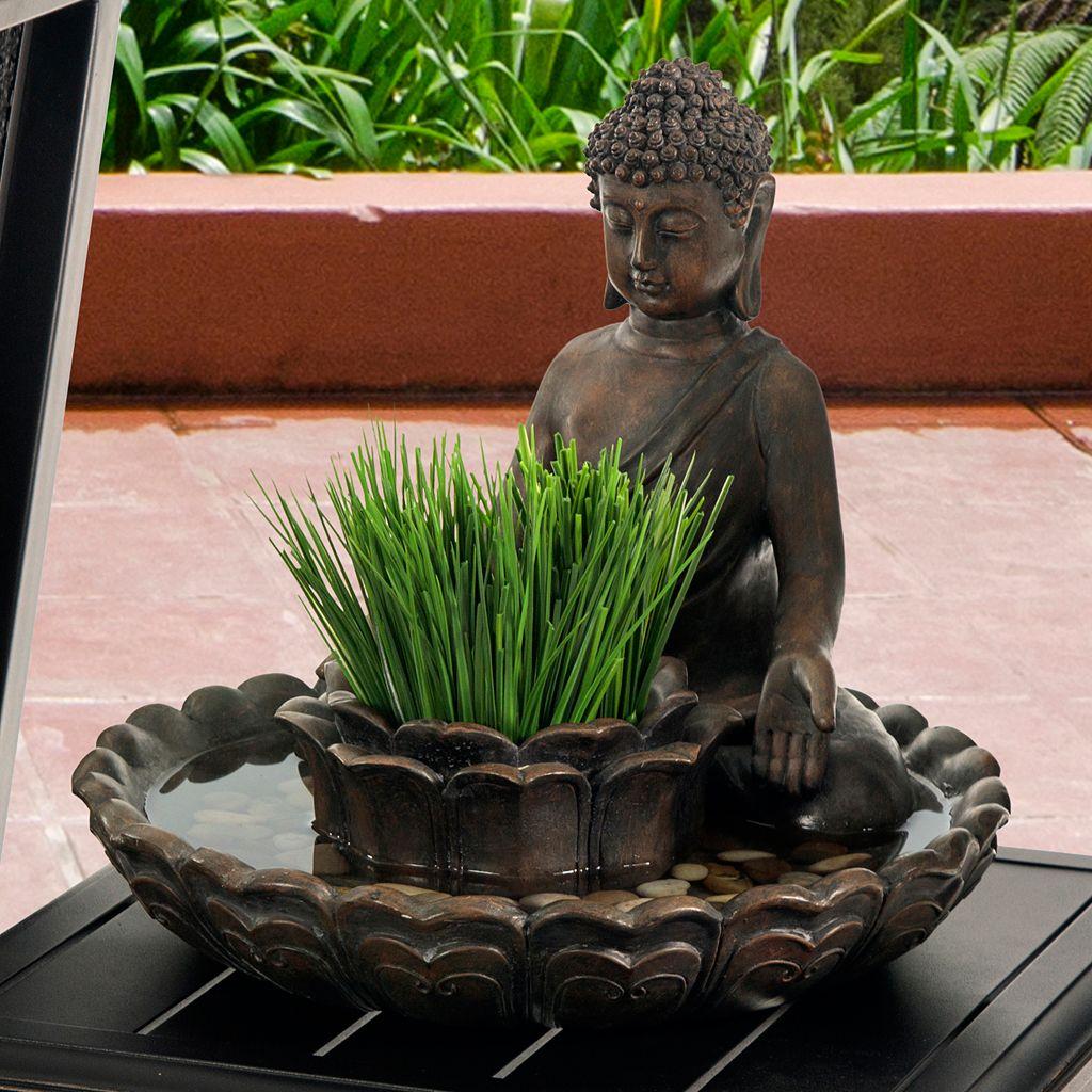 Bombay® Outdoors Buddha Bird Bath & Planter Table Decor