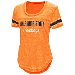Women's Campus Heritage Oklahoma State Cowboys Double Stag Tee