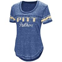 Women's Campus Heritage Pitt Panthers Double Stag Tee