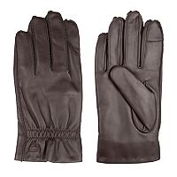Men's Levi's® Fleece-Lined Leather Gloves