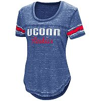 Women's Campus Heritage UConn Huskies Double Stag Tee