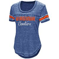 Women's Campus Heritage Virginia Cavaliers Double Stag Tee