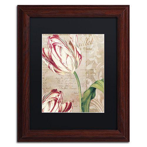 Trademark Fine Art Tulips Framed Wall Art