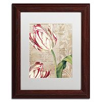 Trademark Fine Art Tulips Framed Wall Art