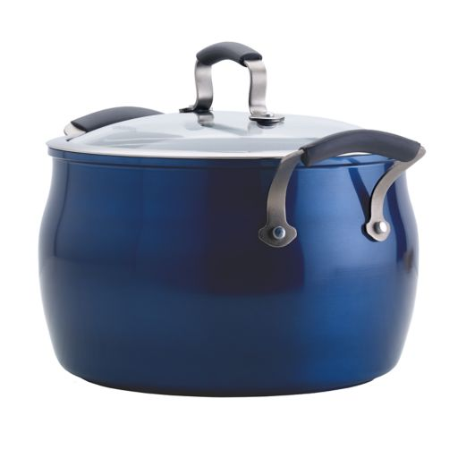 Epicurious 8-qt. Covered Stockpot with Meat Rack