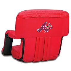 Picnic Time Atlanta Braves Ventura Portable Reclining Seat
