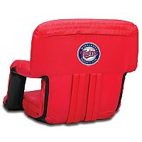 Picnic Time Minnesota Twins Ventura Portable Reclining Seat