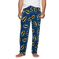Men's DC Comics Batman Lounge Pants with Mask