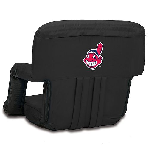 Picnic Time Cleveland Indians Ventura Portable Reclining Seat