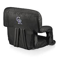Picnic Time Colorado Rockies Ventura Portable Reclining Seat
