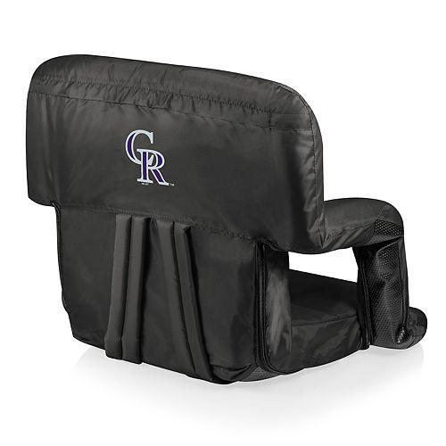 Picnic Time Colorado Rockies Ventura Portable Reclining Seat