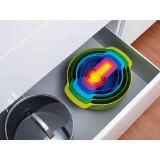 Joseph Joseph 9-pc. Multi-Color Nesting Bowl & Measuring Cup Set