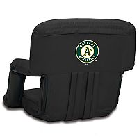 Picnic Time Oakland Athletics Ventura Portable Reclining Seat