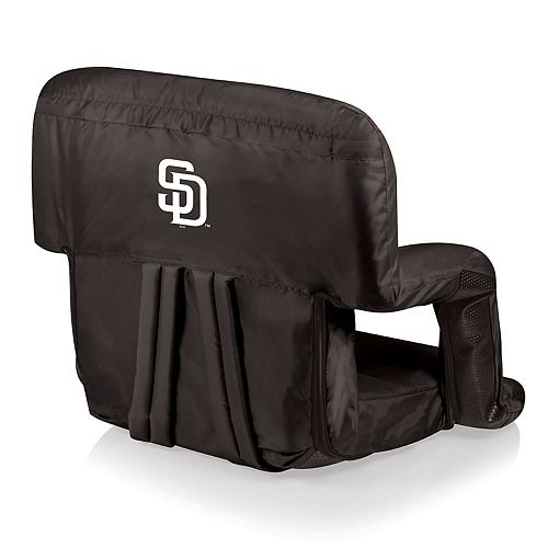 Picnic Time San Diego Padres Ventura Portable Reclining Seat