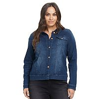 Plus Size Gloria Vanderbilt Ellie Denim Jacket