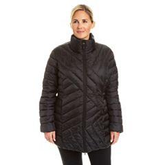 Plus Size Champion Packable Puffer Coat