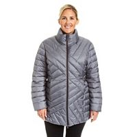 Plus Size Champion Packable Puffer Coat
