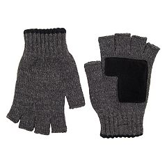 Men's Levi's® Marled Fingerless Gloves