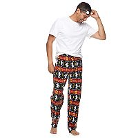Men's Harry Potter Gryffindor Microfleece Lounge Pants & Eye Mask