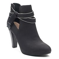 Jennifer Lopez Charlie Women's High Heel Ankle Boots