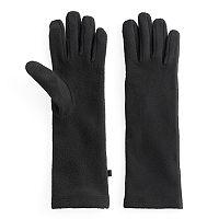 Women's Cuddl Duds Long Fleece Tech Gloves