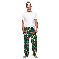 Men's Buddy the Elf Lounge Pants with Mask