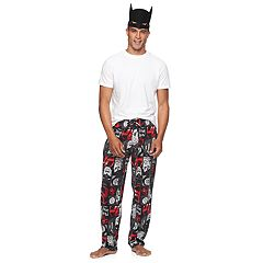 Men's DC Comics Justice League Lounge Pants with Mask