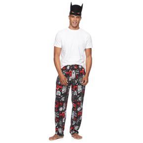 Men's DC Comics Justice League Lounge Pants with Mask
