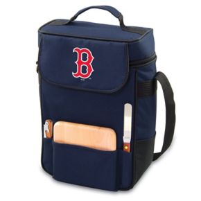 Picnic Time Boston Red Sox Duet Insulated Wine & Cheese Bag