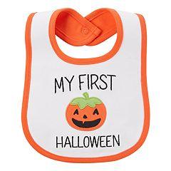 baby carters my first halloween pumpkin applique - Baby First Halloween