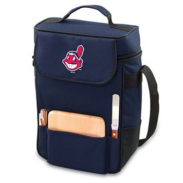 Picnic Time Cleveland Indians Duet Insulated Wine & Cheese Bag