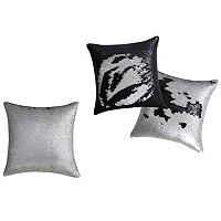 VCNY Mermaid Sequin Throw Pillow