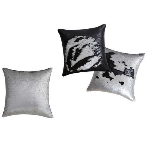 VCNY Mermaid Sequin Throw Pillow