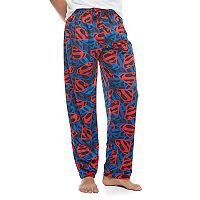 Men's DC Comics Superman Shield Sueded Fleece Lounge Pants