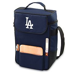Picnic Time Los Angeles Dodgers Duet Insulated Wine & Cheese Bag