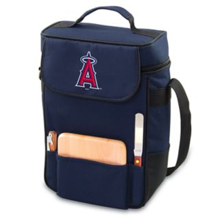 Picnic Time Los Angeles Angels of Anaheim Duet Insulated Wine & Cheese Bag