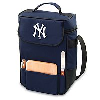 Picnic Time New York Yankees Duet Insulated Wine & Cheese Bag