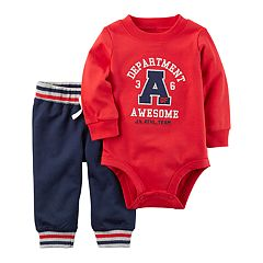 Baby Boy Carter's 'Department of Awesome' Bodysuit & Pants Set