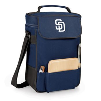 Picnic Time San Diego Padres Duet Insulated Wine & Cheese Bag