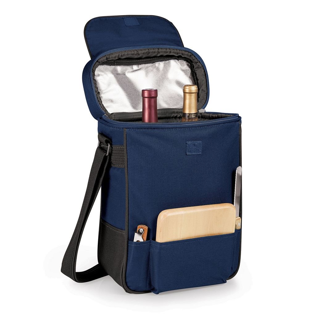 Picnic Time Seattle Mariners Duet Insulated Wine & Cheese Bag