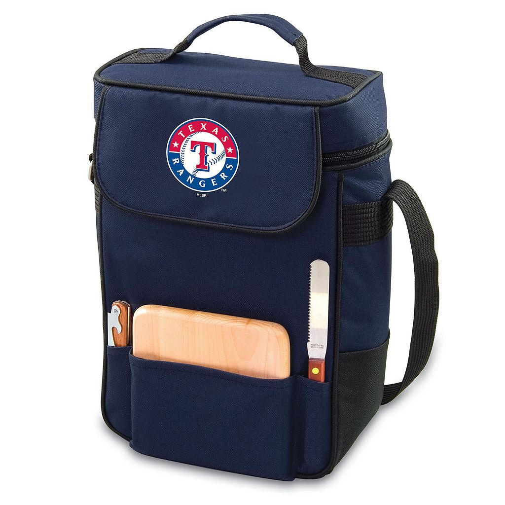 Picnic Time Texas Rangers Duet Insulated Wine & Cheese Bag