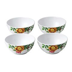 Royal Albert 4 pc Old Country Roses Melamine Cereal Bowl Set