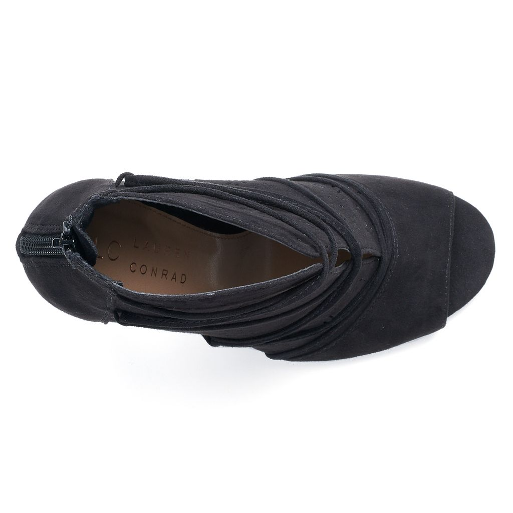 LC Lauren Conrad Lily Women's High Heel Ankle Boots