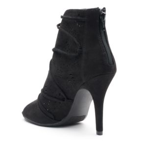 LC Lauren Conrad Lily Women's High Heel Ankle Boots